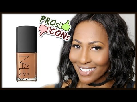 Sheer Glow Foundation by NARS #8