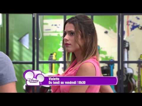 Violetta 2- resumer episode 6 a 10