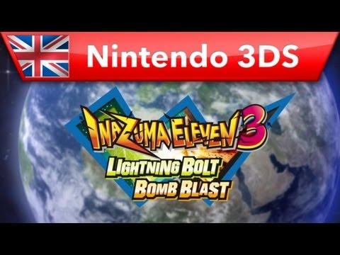 Видео № 0 из игры Inazuma Eleven 3 - Bomb Blast (Б/У) [3DS]