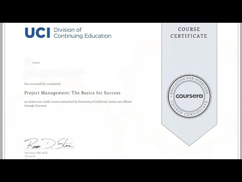 Coursera   Project Management : The Basics for Success all quiz ...