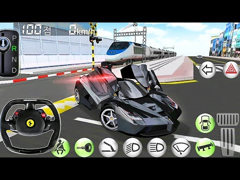 Car Driving Ferrari Simulator - Driver's License Examination Simulation - Best Android Gameplay