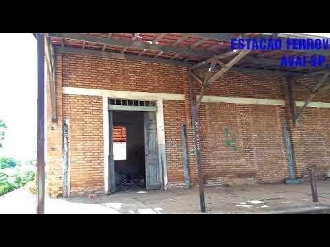 ESTAÇÃO FERROVIÁRIA ABANDONADA EM AVAI. SP.