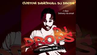 I will record reggae dancehall dj drops for you.