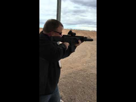 Shooting A Beretta ARX 100 Suppressed