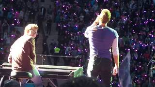 Coldplay LIVE - Everglow (on piano Ferdinand Schwartz) - Munich June 6th 2017
