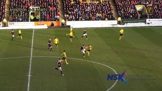 preview picture of video 'Livi 2-3 Hearts - Sat 7th Feb '15 - TACKLE'