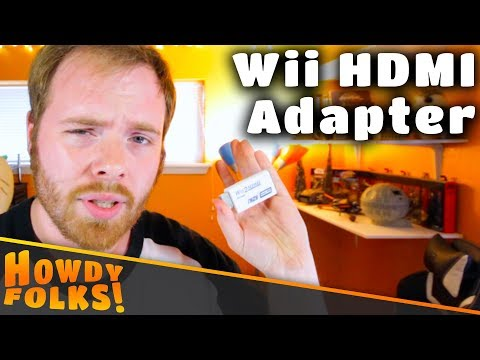 Wii to HDMI Adapter    Worth It?