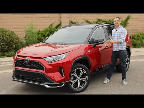 2021 Toyota RAV4 Prime Test Drive Video Review