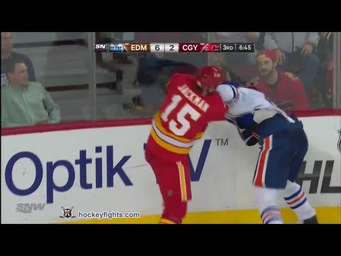 Tim Jackman vs. Ryan Whitney