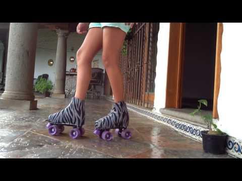 Aprende a patinar en patines de 4 ruedas+6 trucos