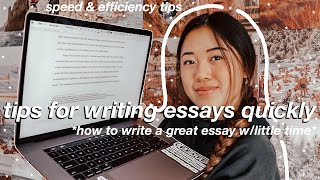 how to write the perfect essay the night before (ESSAY WRITING TIPS)