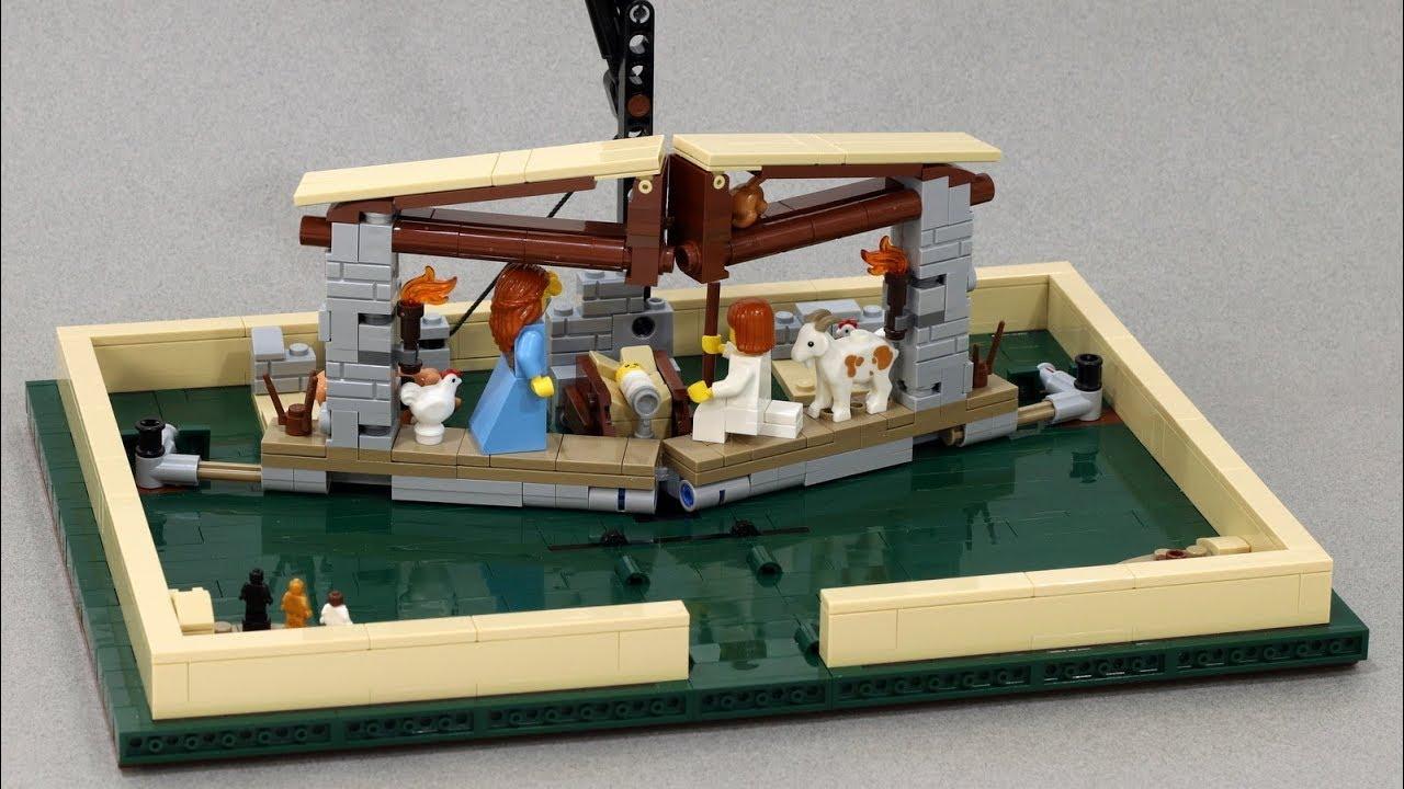 Nativity Scene LEGO Pop-Up Book Insert