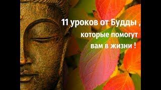 11 уроков от Будды , которые помогут вам в жизни !