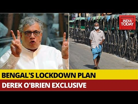 Derek O'Brien Exclusive On How Mamata Banerjee's Bengal Plans To Remove Coronavirus Lockdown