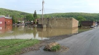 preview picture of video 'Flood in Ridgway Pennsylvania  May 21, 2014'