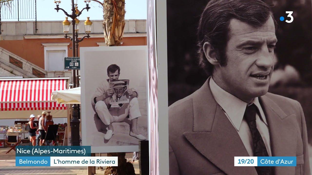 Le photographe Charles Bébert revient sur son amitié avec Jean-Paul Belmondo. Il expose à Nice