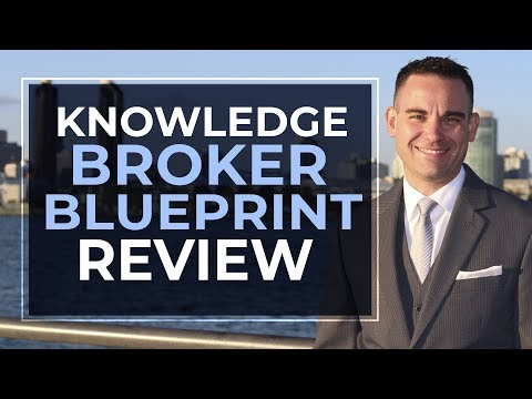 Knowledge Broker Blueprint From Tony Robbins And Dean