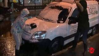 Снег в Испании!!!!Nieve en España!!!!