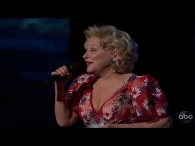 Bette Midler: Oscars 2019