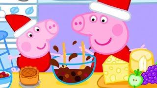 Peppa Pig Full Episodes | Christmas Baking Special With Peppa Pig | Kids Video