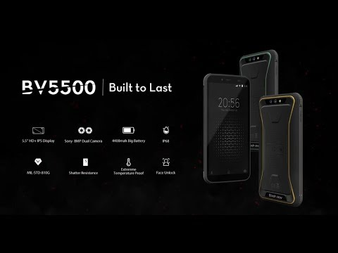 Official 3D graphic video of Blackview BV5500, the Most Fashionable Rugged outdoor smartphone