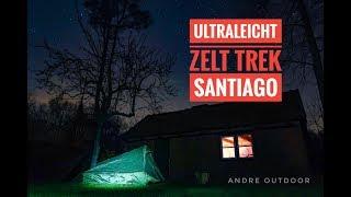 Ultraleichtes Trekkingzelt Trek Santiago/Review/Deutsch/1,15 Kg