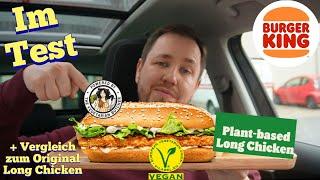 "Burger King: Plant-based Long Chicken ""Vegan"" im Test"