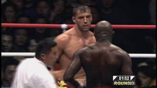 Andy Hug vs. Ernest Hoost - K-1 GP