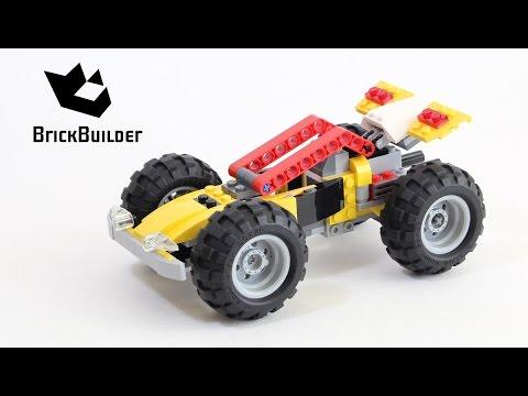 Vidéo LEGO Creator 31022 : Le quad turbo