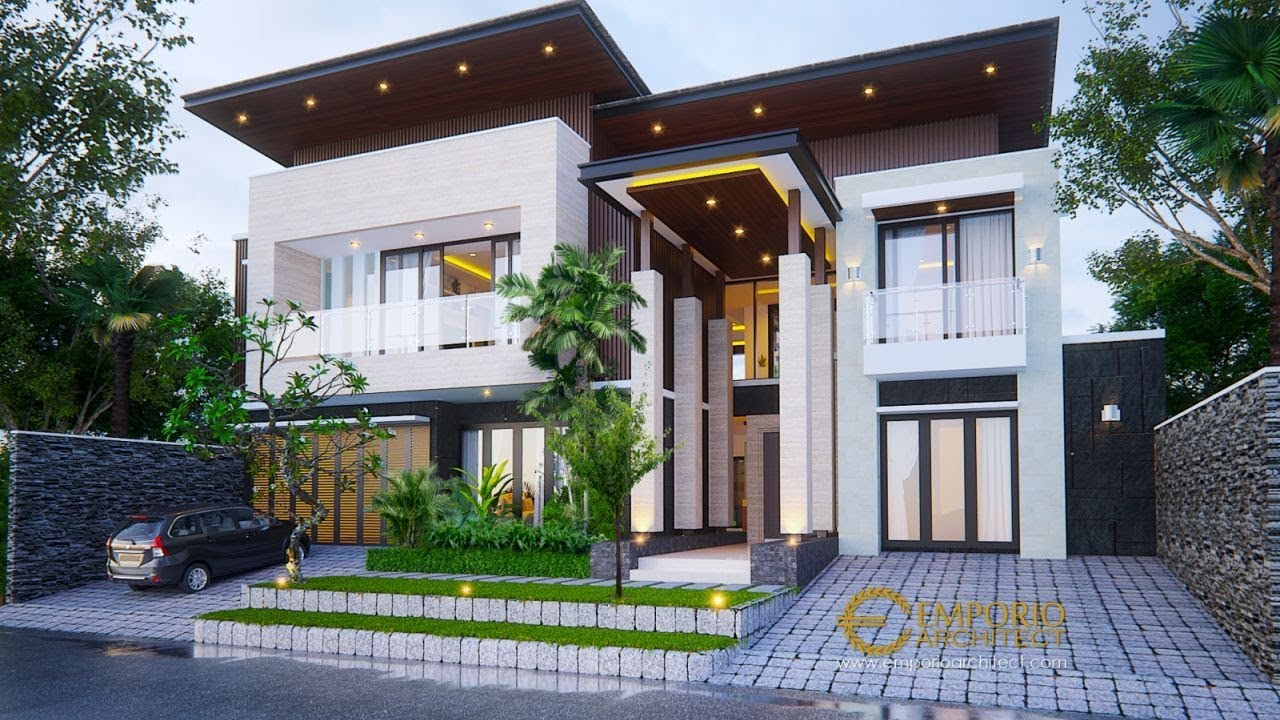 Video 3D Mr. Aheng Modern House 2 Floors Design - Kelapa Gading, Jakarta Utara