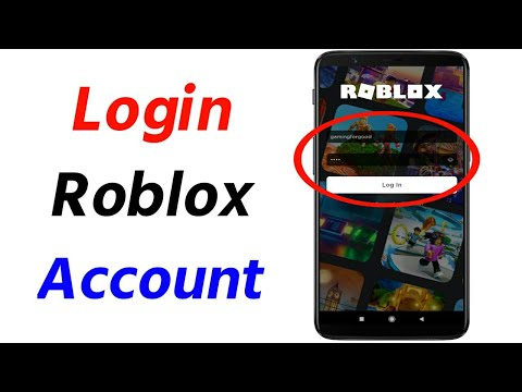 How to Login to Roblox Account