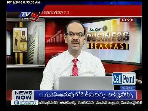 19th Oct 2018 TV5 News Business Breakfast