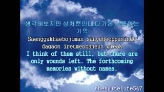 SS501 [Heo Young Saeng] - Nameless Memory (Hangul, Romanization, Eng Sub)
