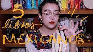5 Libros MEXICANOS Chidos 🇲🇽✨