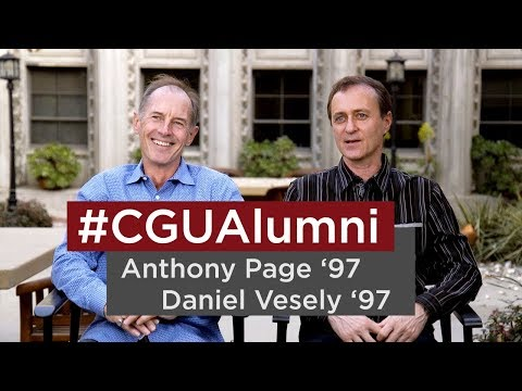 #CGUAlumni Anthony Page and Daniel Vesely