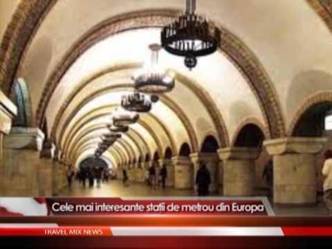 Cele mai interesante staţii de metrou din Europa