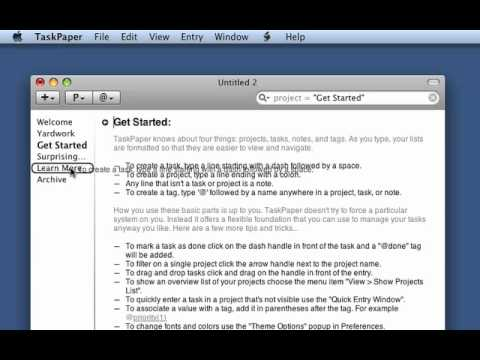 TaskPaper To-Do App For Mac 93% Off Today