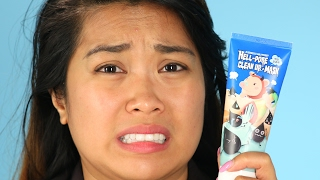"Women Try The ""Most Painful"" Face Mask"