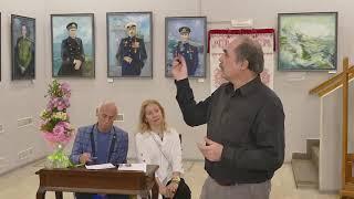 Выставка Аиды Ханемайер в Славянском культурном центре.