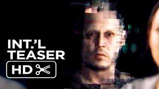 Transcendence Official Japanese Teaser 2014  Johnny Depp SciFi Movie HD