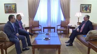 Министр иностранных дел Армении принял главу Армянской федерации ради правосудия и демократии США