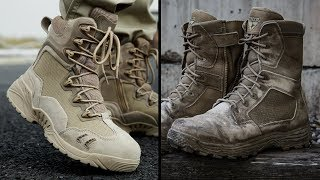 Top 10 Best Tactical Combat Boots For Military & Survival