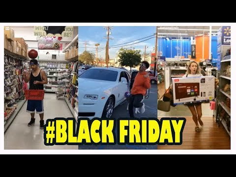 When Musers Shopping at Black Friday Tik Tok Musically Compilation
