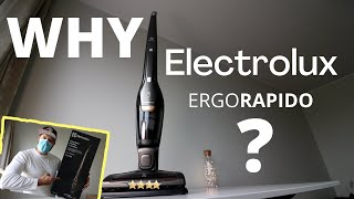 ELECTROLUX Vac ERGORAPIDO AND THINGS YOU NEED TO KNOW
