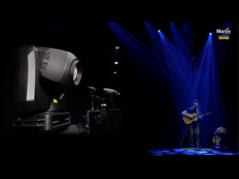 Martin ERA 300 Profiles on tour with Newton Faulkner via Martin's Lights Ltd