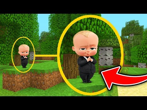 Minecraft : We Found THE BOSSBABY! (Ps3/Xbox360/PS4/XboxOne/WiiU)