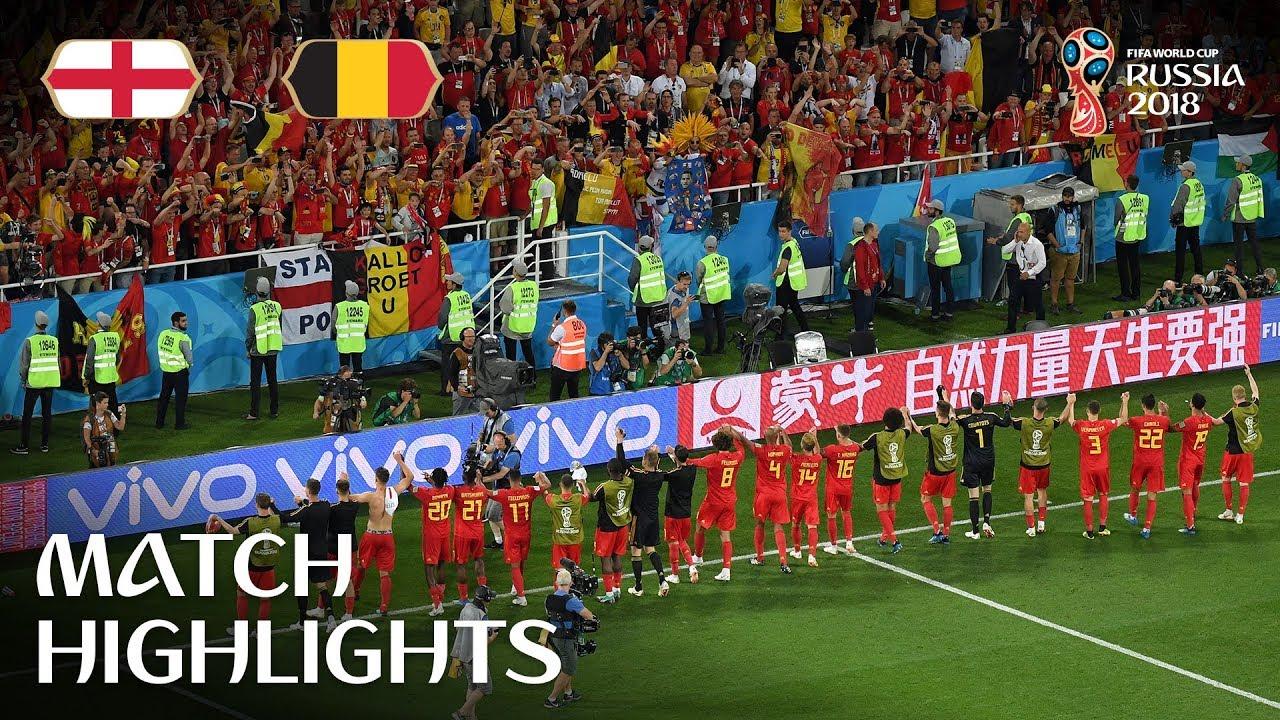 Αγγλία-Βέλγιο 0-1