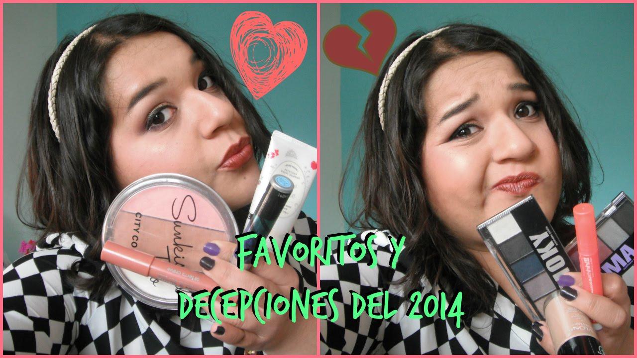 Favoritos y decepciones de maquillaje del 2014