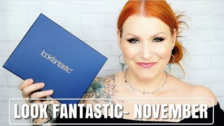Look Fantastic November Beauty Subscription Box Unboxing
