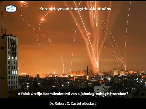 A Falak Orzoje Hadmüvelet – Dr Robert C Castel előadása – Keren HaYesod Hungaria Alapitvany